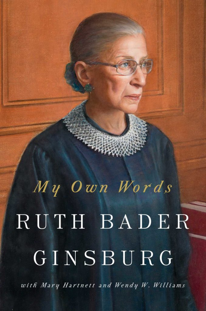 My Own Words: Ruth Bader Ginsburg book cover