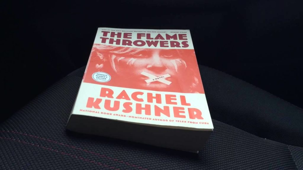 The Flamethrowers by Racher Kushner book photo