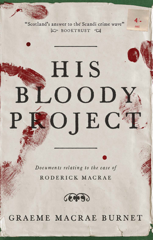 His Bloody Project book cover photo