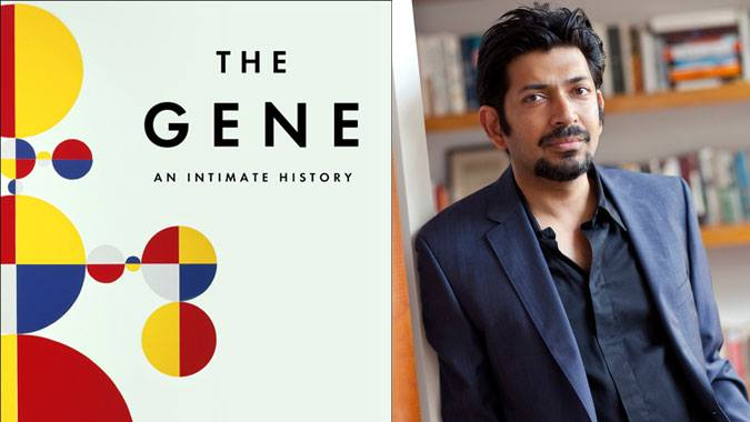 The Gene by Siddhartha Mukherjee cover photo