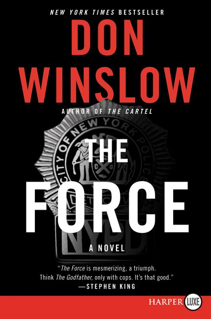 The Force by Don Winslow book cover