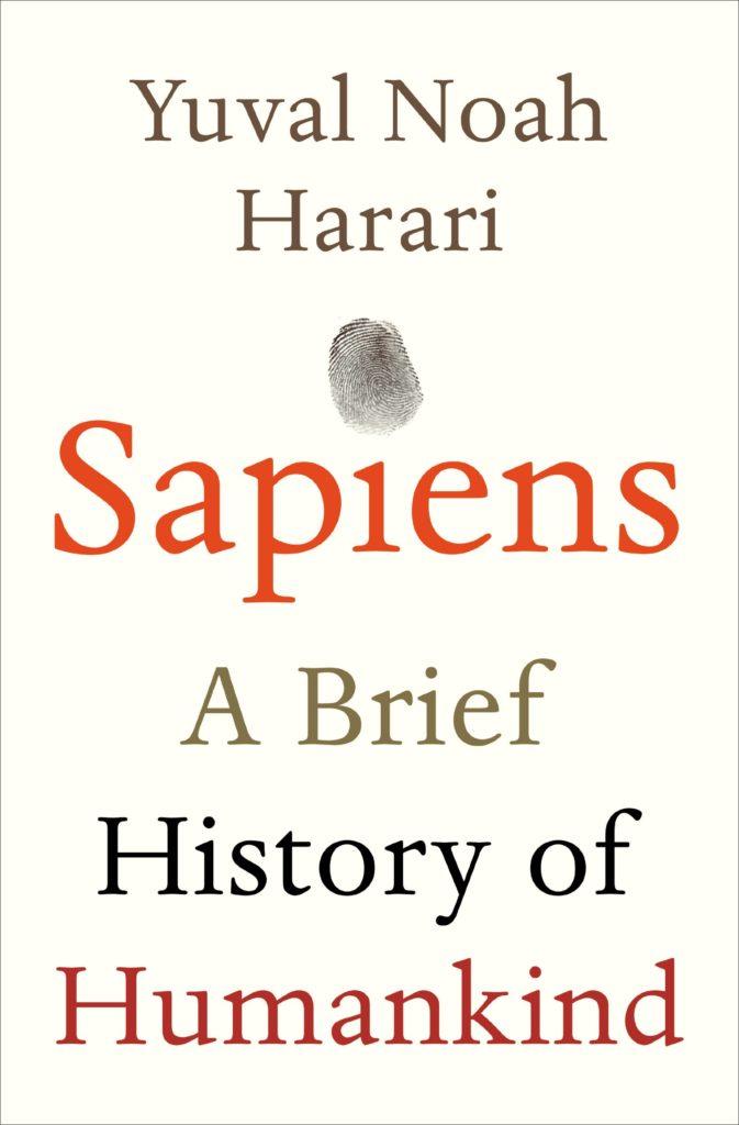 Sapiens book cover photo