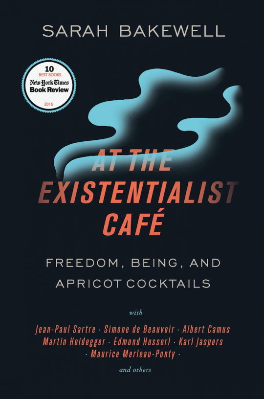 At The Existentialist Cafe book cover