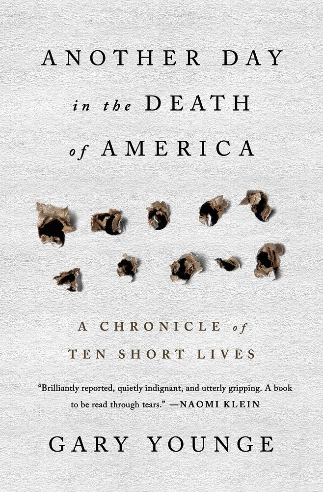 Another Day in the Death of America by Gary Yonge book cover