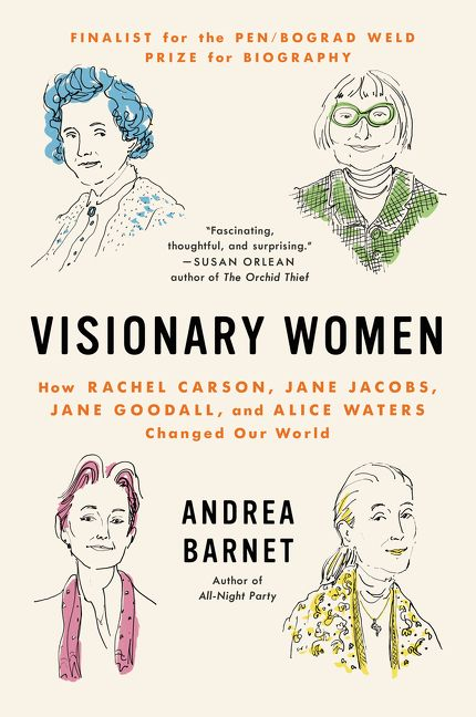 Book cover of Visionary Women