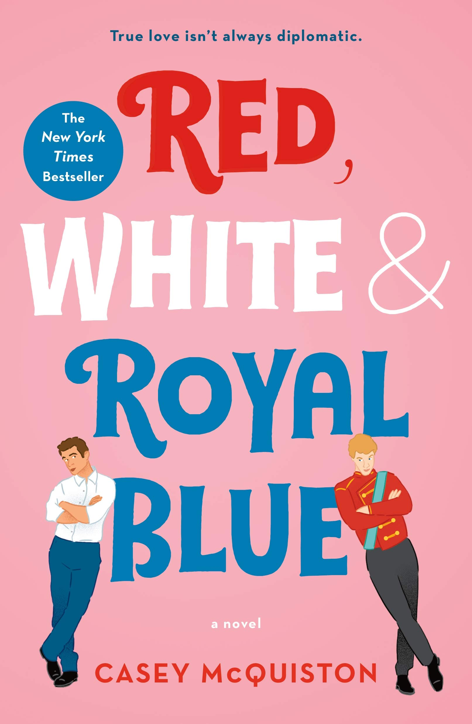 Photo of Red White and Royal Blue cover