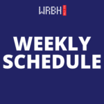 Weekly Schedule for 10/25 – 10/31